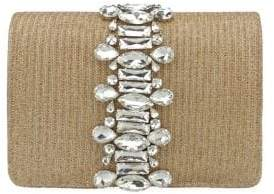 Adrianna Papell Sandi Jewel-Embellished Convertible Clutch