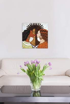 """Every Woman by Monica Stewart Gallery-Wrapped Canvas Print - 37\""""x37\"""""""