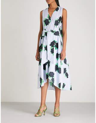 Ganni Pine cotton dress