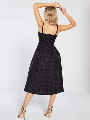 Very Jacquard Prom Dress - Black