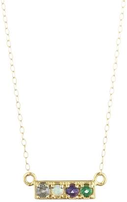 Lulu Frost CODE Word Love Necklace 14k Gold