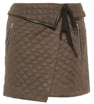 Rag & Bone Jane quilted miniskirt