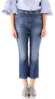3/4 Jeans KING Hosen Frau Blue jeans