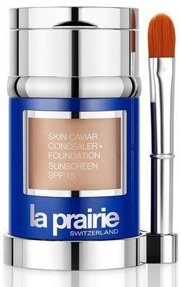 La Prairie Skin Caviar Concealer · Foundation Sunscreen SPF 15, 1.0 oz.