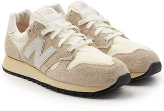 New Balance U520D Sneakers with Suede and Mesh