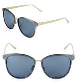 Linda Farrow Luxe 59MM Square Sunglasses