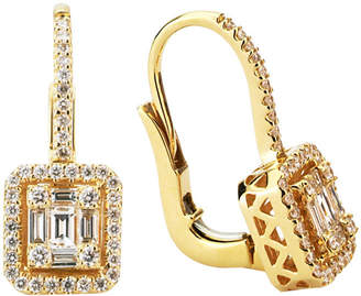 LeVian Suzy Diamonds Suzy 18K 0.86 Ct. Tw. Diamond Earrings