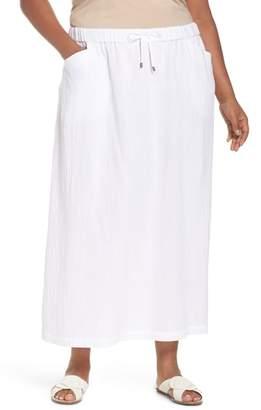 Eileen Fisher Drawstring Maxi Skirt