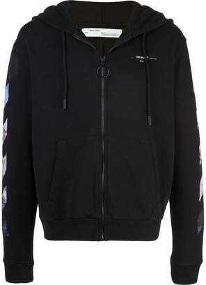 Off-White logo-print hoodie