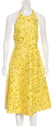 Giambattista Valli Floral Halter Dress