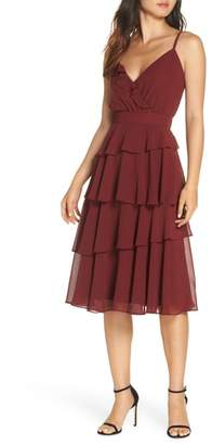 Ali & Jay Love Is All Around Ruffle Tiered Dress