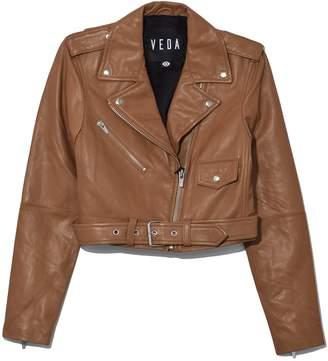 Veda Baby Jane Orion Jacket in Tanlines