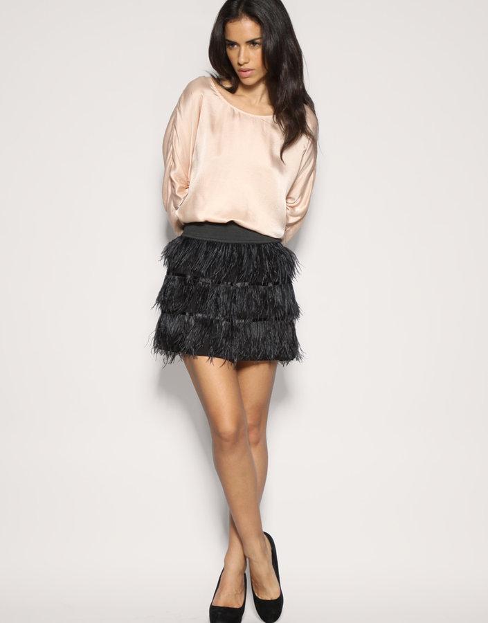 Vero Moda Feather Skirt