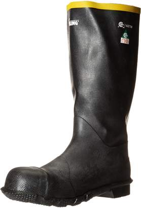 Viking VW3-1-14 Rubber Handyman Steel Toe and Plate Boot