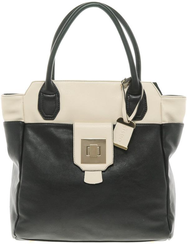 Oasis Square Lock Handheld Bag