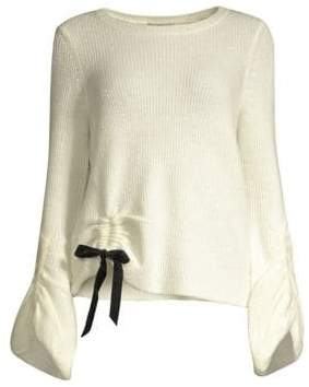 DH New York Fisherman Cinched Waist Sweater