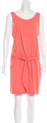 Theory Tie-Front Knee-Length Dress