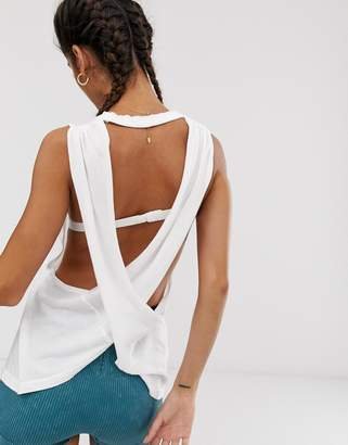 Free People Movement No Sweat cross back vest top