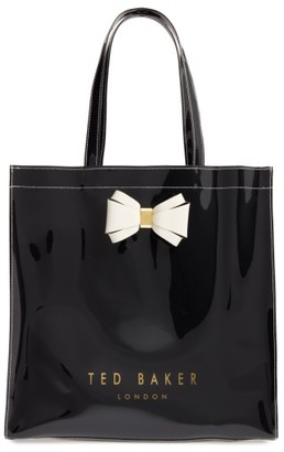 Ted Baker London Large Icon - Bow Tote - Black $59 thestylecure.com