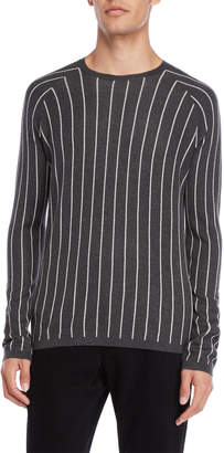 American Designer Charcoal Stripe Sweater