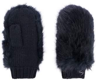 Urban Code Urbancode furry gloves