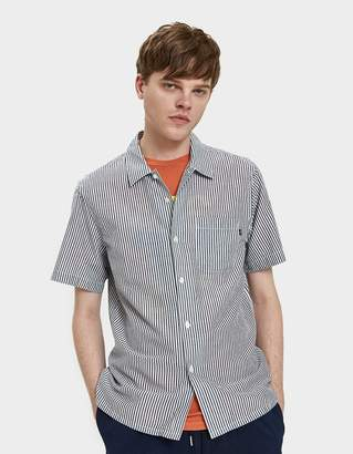 Obey Avalon Woven Shirt in Black Multi