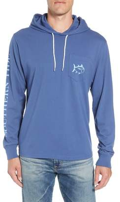 Southern Tide Gradient Hooded Pullover