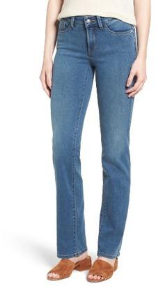 Women's Nydj Marilyn Stretch Straight Leg Jeans $134 thestylecure.com