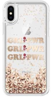 Rebecca Minkoff GRL PWR Glitterfall Case For iPhone XS & iPhone X