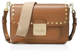 MICHAEL Michael Kors Sloan Editor Studded Large Leather Shoulder Bag