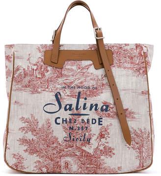 De.De Chez Salina Tall Canvas Tote Bag