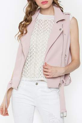 Sugar Lips Biker Blush Vest