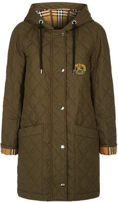 Burberry Archive Logo Quilted Jacket