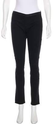 Helmut Lang Mid-Rise Straight-Leg Leggings