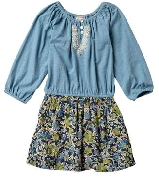 Mimi & Maggie Foliage Dress (Toddler, Little Girls, & Big Girls)