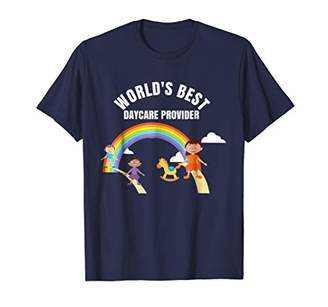 Teachers Staff World's Best Daycare Provider Shirts Outfit