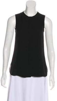 Adam Silk Sleeveless Top