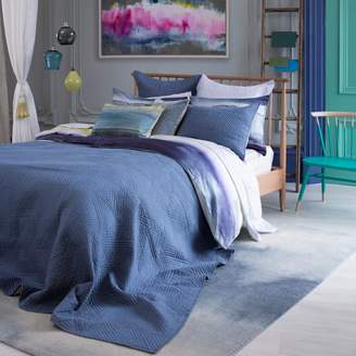 bluebellgray Kintail Solid Quilted Euro Sham