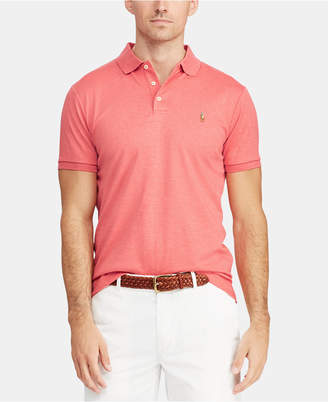 Polo Ralph Lauren Men's Custom Slim Fit Soft Touch Cotton Polo