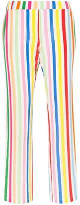 Mira Mikati striped silk trousers
