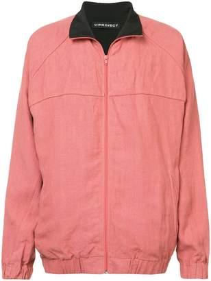 Y/Project Y / Project contrast collar bomber jacket