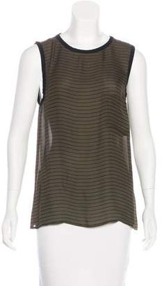 Haute Hippie Sleeveless Silk Top