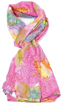 Violet Del Mar Babylon Pink Scarf $45 thestylecure.com