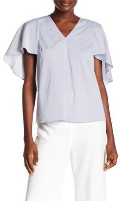 Rachel Roy Drama V-Neck Blouse