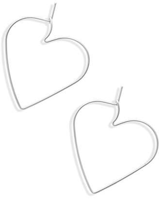 Rebecca Minkoff Lover Hoop Earrings