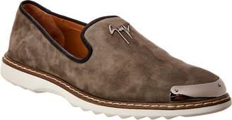 Giuseppe Zanotti Suede Sneaker
