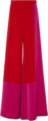 Cushnie et Ochs Octavia Color Block Silk Crepe Pant