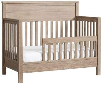 Pottery Barn Kids Charlie 4-in-1 Toddler Bed Conversion Kit, Smoked Gray