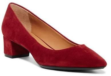 Calvin Klein Gloria Studded Low Block Heel Pump