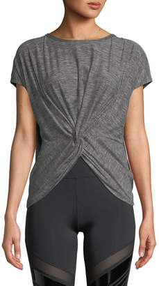 Nylora Emerson Activewear Twisted T-Shirt Top